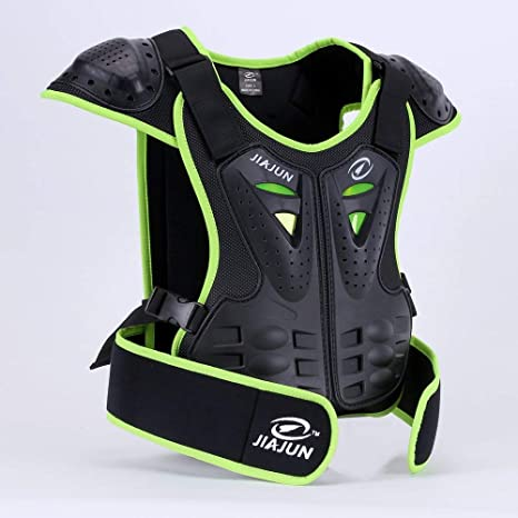 551ed5cda MOTOWOLF Kids Dirt Bike Body Chest Spine Protector Armor Vest Protective  Gear for Dirtbike Bike Motocross