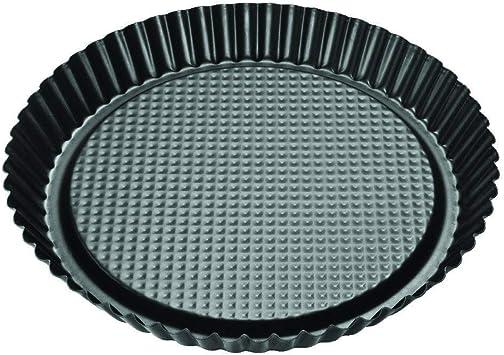 black metallic Zenker 6522 Obsttortenform Ø 30 cm