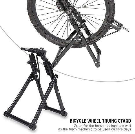 Reparación Soporte de Bicicletas Rueda, Herramienta de Reparación Soporte de Centrar para Rueda de Bicicleta Accesorios Llanta de Ciclismo: Amazon.es: Deportes y aire libre