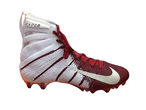 buy online 49e12 f1589 Nike Men's Vapor Untouchable 3 Elite Football Cleats (White/Crimson, ...