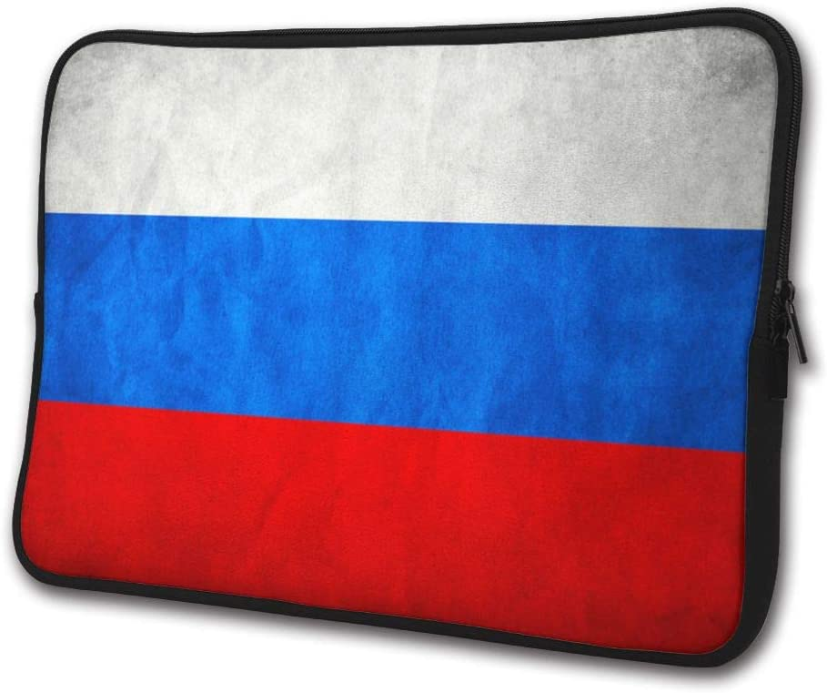 SWEET-YZ Laptop Sleeve Case Russia Retro Flag Notebook Computer Cover Bag Compatible 13-15 Inch Laptop