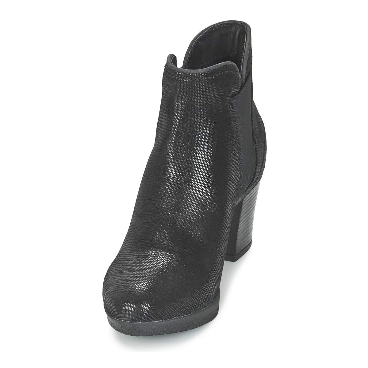 Betty London FILIOUTI Stiefelletten Stiefelletten Stiefelletten Stiefel Damen Schwarz Low Stiefel 43c9d1