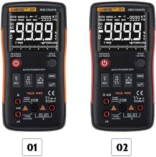 ANENG Q1 Digital Multimeter AC DC Voltage Resistance Temperature Diodes Tester