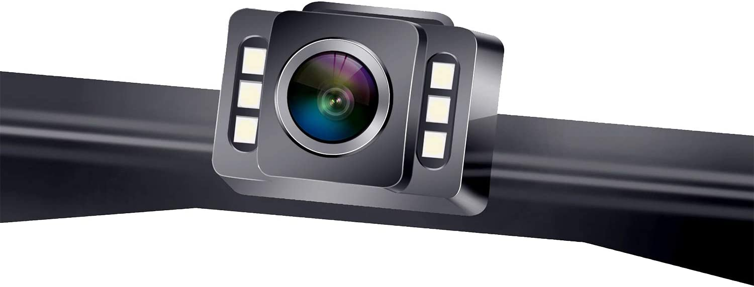LeeKooLuu HD Car Backup Camera 6 Auto LED Lights Rear//Front View Camera with Super Night Vision IP69K Waterproof 150˚ Wide View for Safety 12V-24V