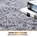 Noahas Super Soft Modern Shag Area Rugs Fluffy