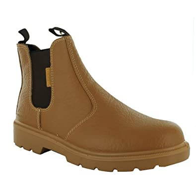 676496568f4 New Mens Groundwork Slip On Steel Toe Safety Ankle Boots Size UK 7 8 9 10  11