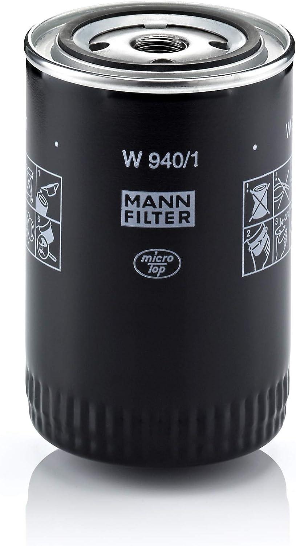 Original Mann Filter Ölfilter W 940 1 Hydraulikfilter Geeignet Für Automatikgetriebe Für Pkw Und Nutzfahrzeuge Auto