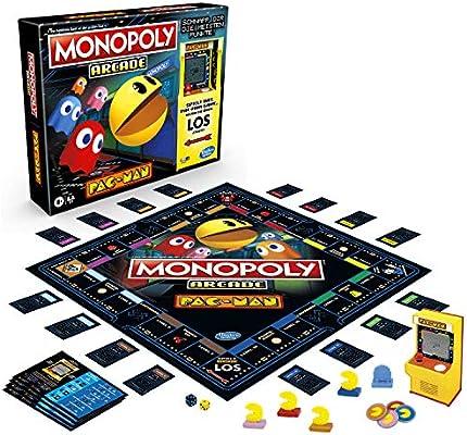 Hasbro Pac-Man Arcade Board Game Monopoly *German Version* Games Accessories: Amazon.es: Juguetes y juegos