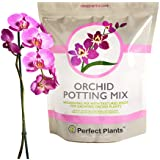 All Natural Orchid Potting Mix 4qts. by Perfect Plants | Hand Mixed in Small Batches | Great for Phalaenopsis of All Kinds