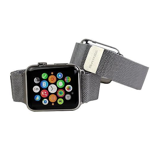 6 opinioni per Loop in maglia Milanese per Apple Watch, Snugg™- Cinturino da Polso in Acciaio