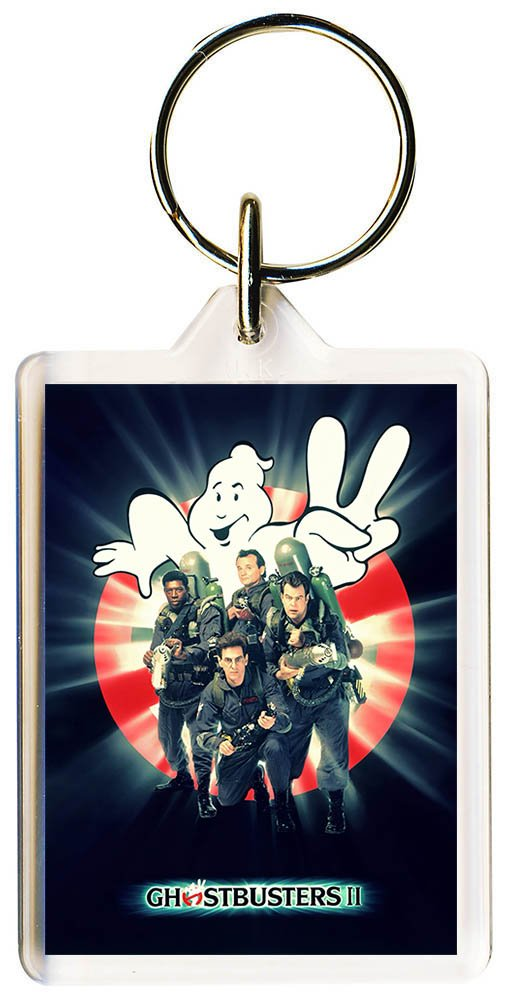 092a777d7 Gifts & Merchandise S8keMedia Ghostbusters 2#6 Keyring 50mm x 35mm