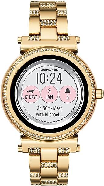 Michael Kors Reloj Mujer de Digital con Correa en Acero Inoxidable ...