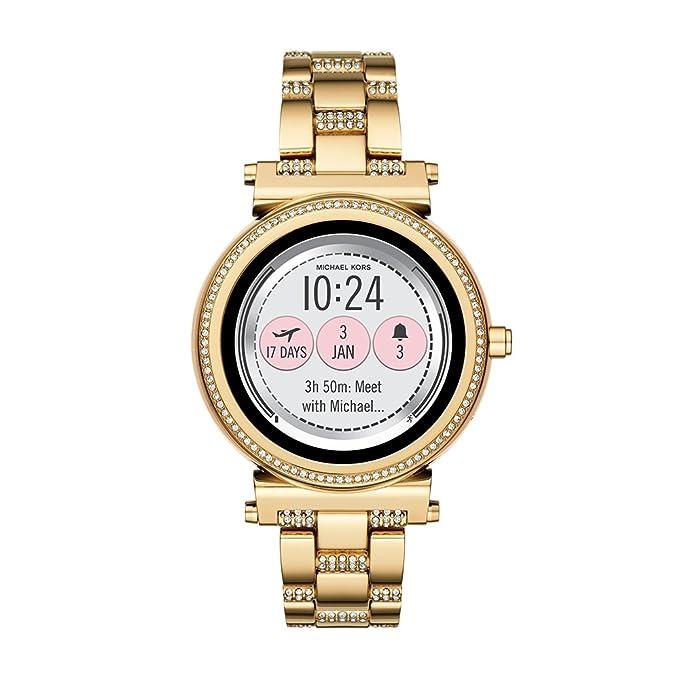 Michael Kors Reloj Mujer de Digital con Correa en Acero Inoxidable MKT5023