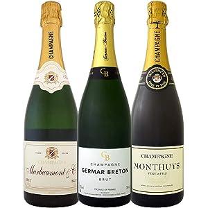 全てシャンパン3本セット スパークリングワイン