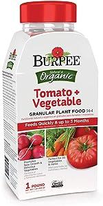 Burpee Organic Tomato and Vegetable Granular Plant Food, 1 lb