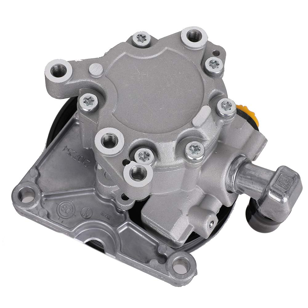 Power Steering Pump with Pulley for Mercedes Benz W163 ML320 ML350 ML430 ML500 ML55 AMG Replace # 0024668101 002466810187