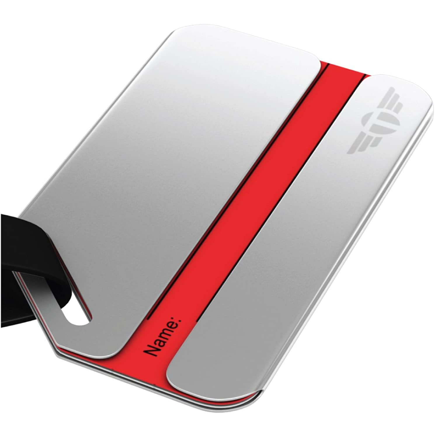 Amazon privacy luggage tag stainless steel metal includes amazon privacy luggage tag stainless steel metal includes lifetime never lost guarantee luggage tags magicingreecefo Choice Image