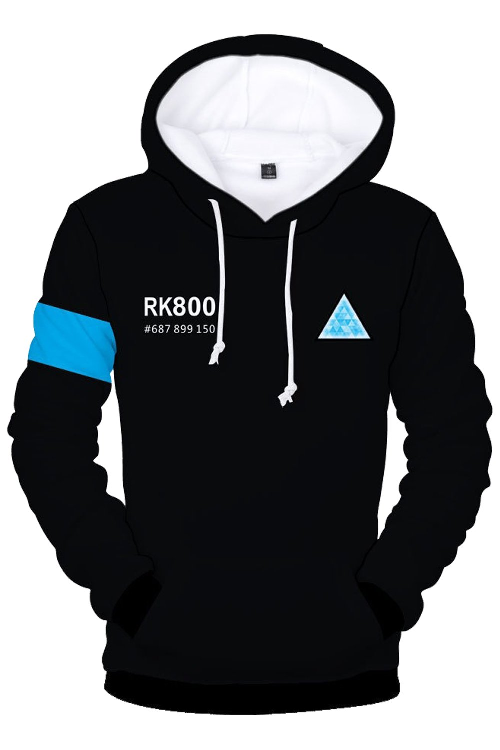 Game Cosplay Hoodie Hoodie Jacket 3D Printed Hooded Pullover Sweatshirt