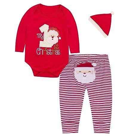 Egosy Navidad recién Nacido Navidad bebé niño niña Primera ...