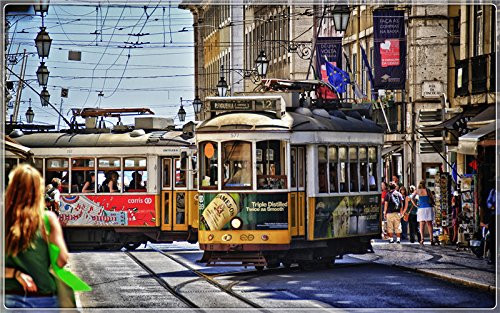 streets-of-lisbon Postcard Post card