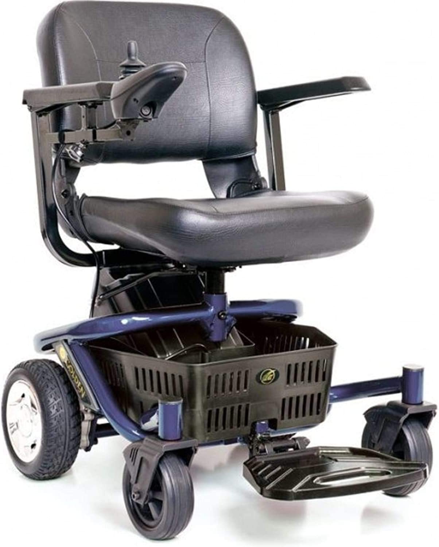 LITERIDER Envy GP162 Electric Travel Powerchair Golden Technologies Blue: Health & Personal Care