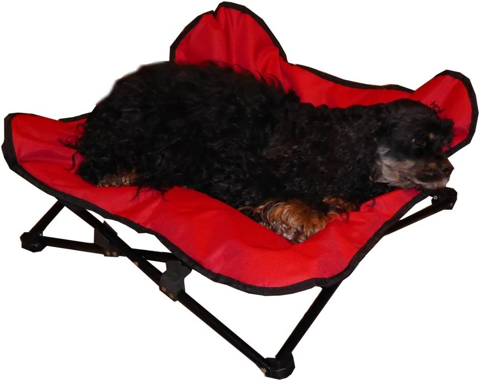 HDP Elevated Napper Cot Space Saver Pet Bed
