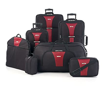 Image Unavailable Not Available For Color Travel Select Creekside 7 Piece Spinner Luggage Set