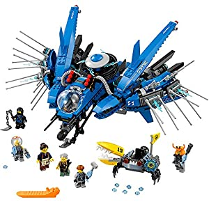 LEGO Ninjago Movie Lightning Jet 70614 Building Kit (876 Piece)