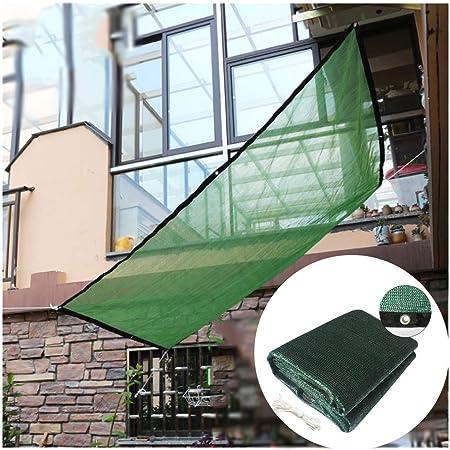 Red de Sombreado, Tela de Sombreado Anti-ultravioleta, la Tasa de Sombreado es Más del 50%, Utilizada para Andamios de Jardín Verde, Pérgola, Pérgola, Lona(Size:1*1.8m,Color:Verde oscuro): Amazon.es: Hogar