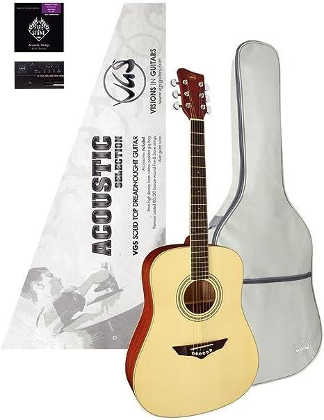 VGS Acoustic Selection Mistral – Set de guitarra de Western ...