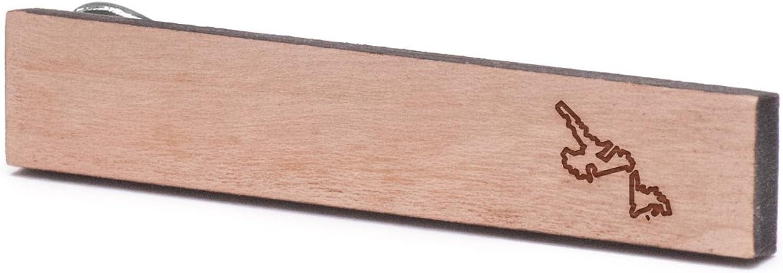 Newfoundland Tie Clip Wooden Tie Bar