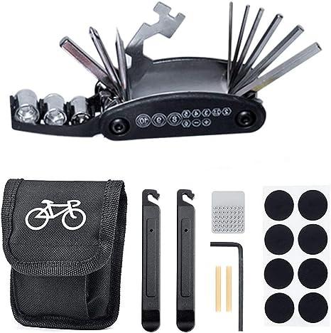 Eizurs Kit Herramientas Bicicleta, 16 en 1 Kit de Herramientas con ...