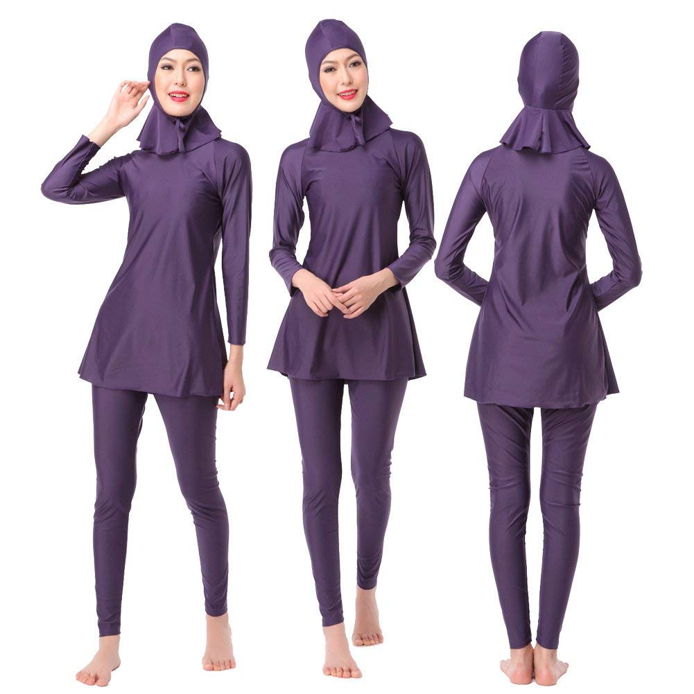 Oudan President Conservative Bathing Suit Color : As Shown, Size : One Size The Hui Muslim Swimsuit Black,XL