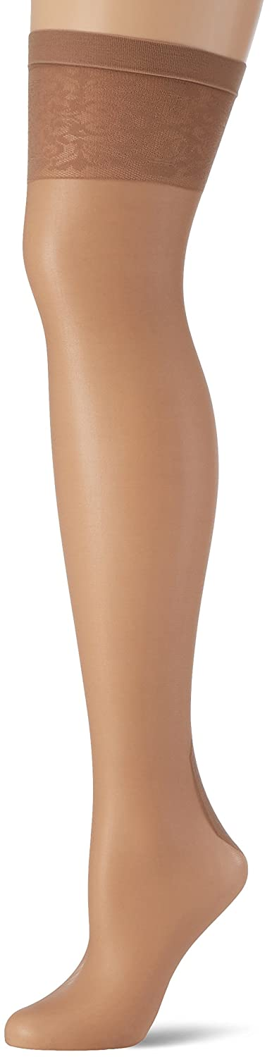 Fiore Edvige Seamed Pattern Top Stockings G4051