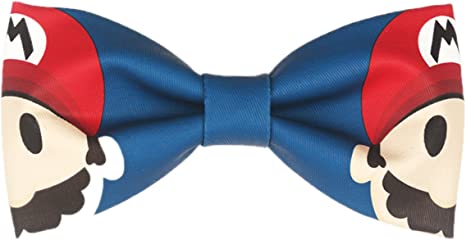 Wsysnl Lace Printing Hand Made Bow Tie