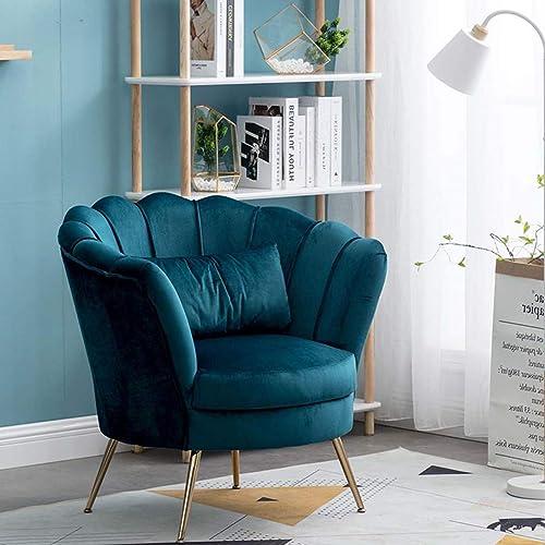 Velvet Armchair Contemporary Accent Chair