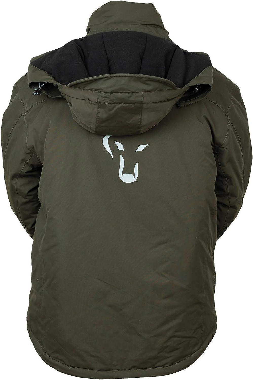 Thermoanzug f/ür Karpfenangler Thermo Zweiteiler Schneeanzug f/ür Angler Fox Carp Winter Suit Winteranzug zum Angeln im Winter
