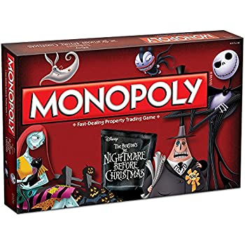 Amazon.com: Nightmare Before Christmas Board Game: Toys & Games