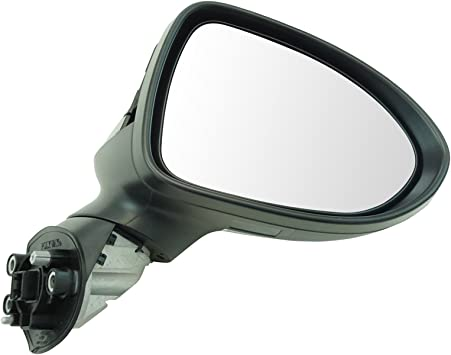 Mirror Power Heated Smooth Black Passenger Side Right RH for Sonata New
