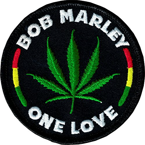 (Bob Marley One Love Embroidered Iron on)