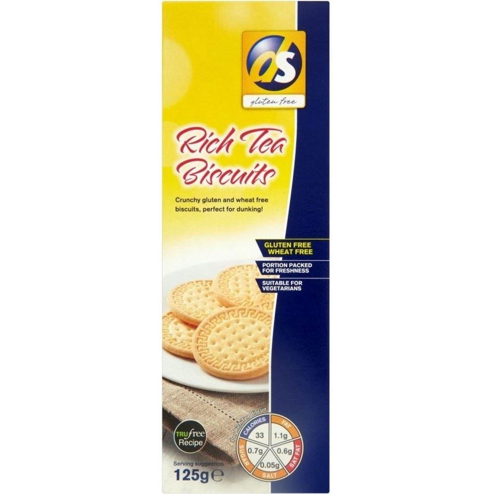 ds gluten free Rich Tea (125g) - Pack of 2