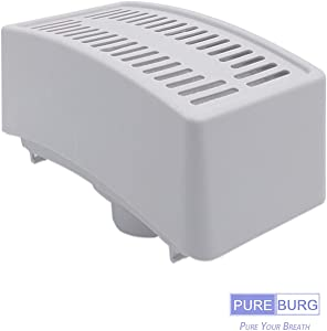 Pureburg 1-Pack Replacement True HEPA Vacuum Air Filter for Electrolux Guardian LUX Aerus Epic 8000 9000 C134A C134B C134C C134D C134E C134F C154A C154B C154C C154D C154E C154F Part 47404