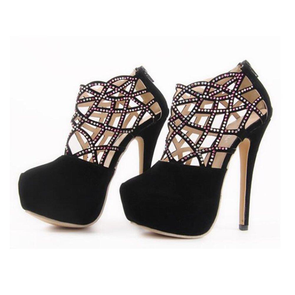 Exing Exing Exing Damenschuhe Europa und Die Vereinigten Staaten New Luxury Luxury Diamond Sexy Hohe Frauen Sandalen Damen High Heel Sandaletten - 51f3cc
