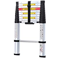 Deals on WolfWise 10.5FT Aluminum Telescoping Ladder