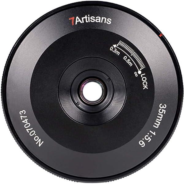 7artisans 35mm f5.6 Full-Frame Manual Focus Ultra-Thin Lens for ...