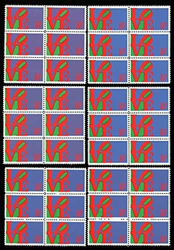 Love Sculpture Lot of 36 US postage stamps (Scott #1475) Great to use as postage on Wedding Invitations!