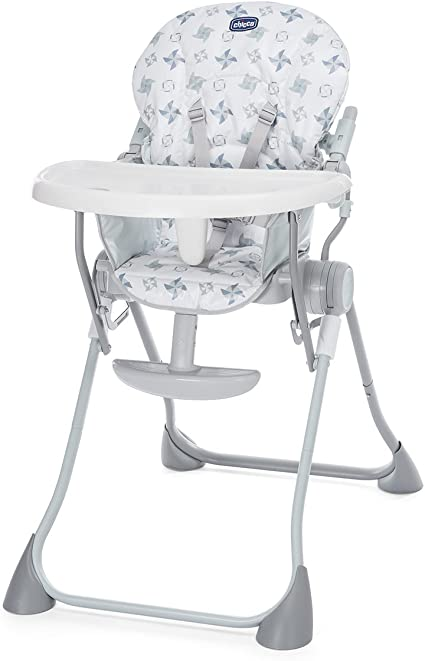 Chicco Pocket Chair Meal Light Gray