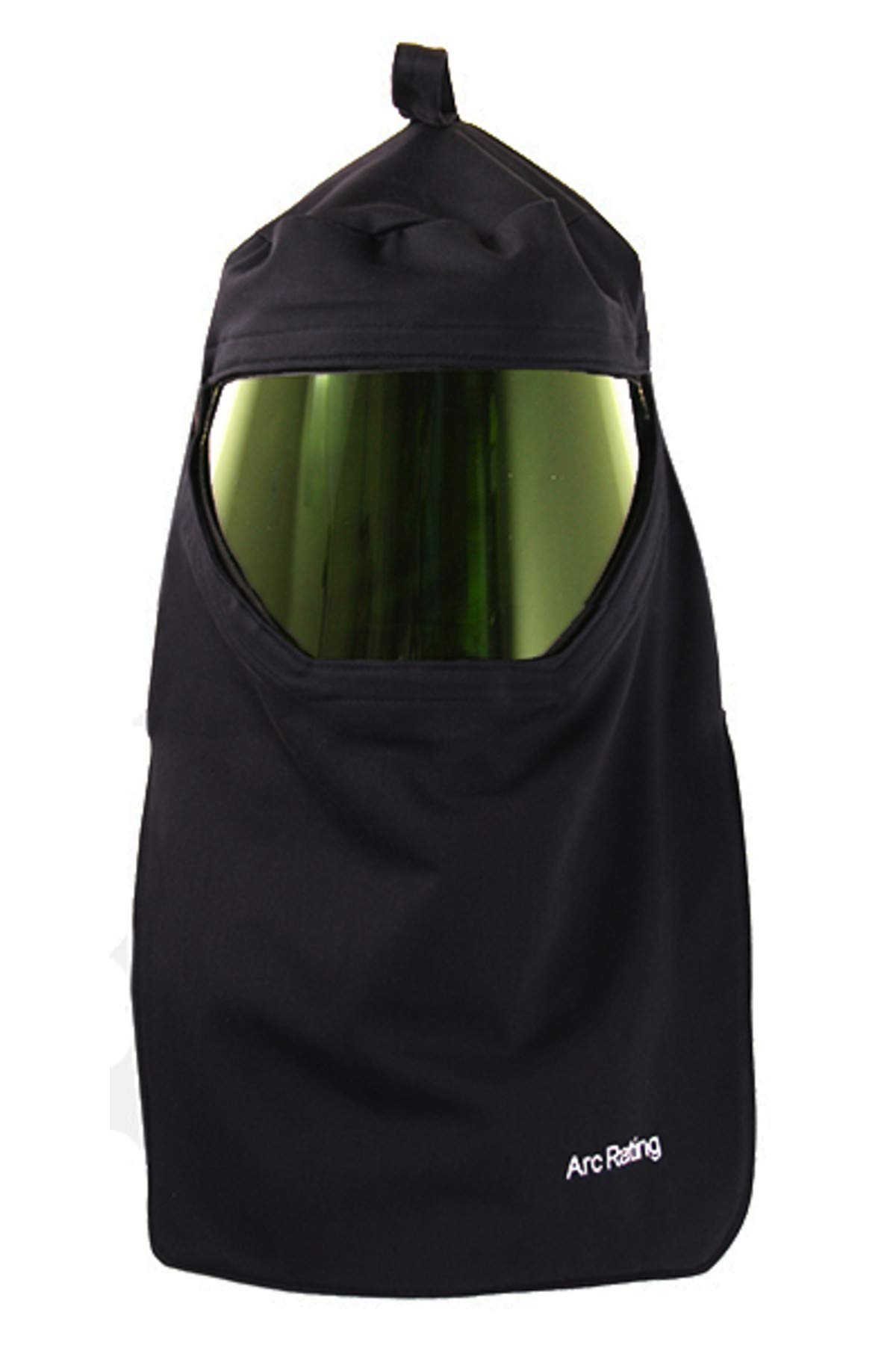 National Safety Apparel H65UPHH ArcGuard Arc Flash Hood with Universal Adapter, 12 Calorie, One Size, Navy