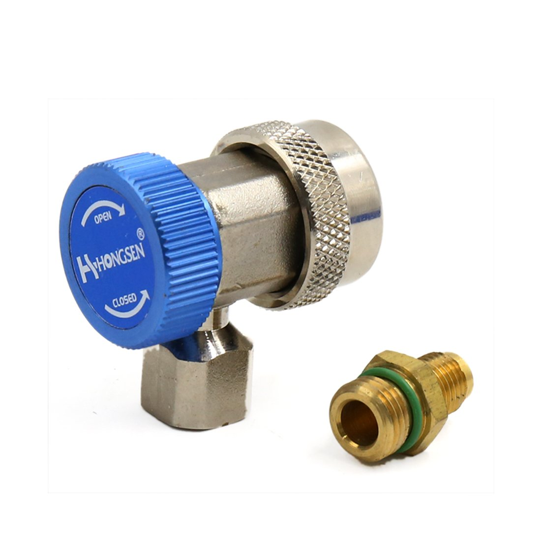 uxcell Car Air Conditioner Adjustable Quick Coupler Connector Adapter
