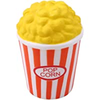 HENGSONG Popcorn Squishies Toy Slow Rising Relieves Stress Soft Toy for Children and Adult Toy Gift Orange